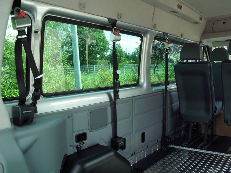 Aluminium Systemboden Mit Einzelsitzen Und Rollstuhlplätzen