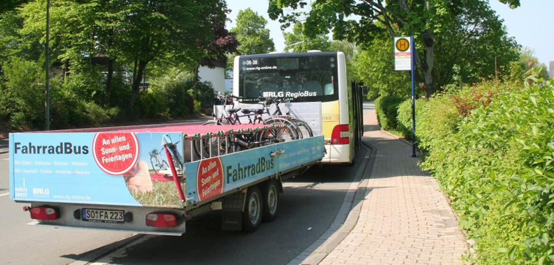Ausflüge mit den Fahrradbussen