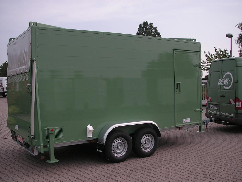 Bodo Anhänger für Geräte und Werkzeug, Bauunternehmung