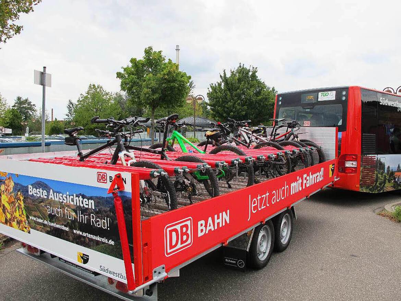 Fahrradanhänger für Linienbus, auch die Deutsche Bahn vertraut auf Schoon Fahrzeugsysteme