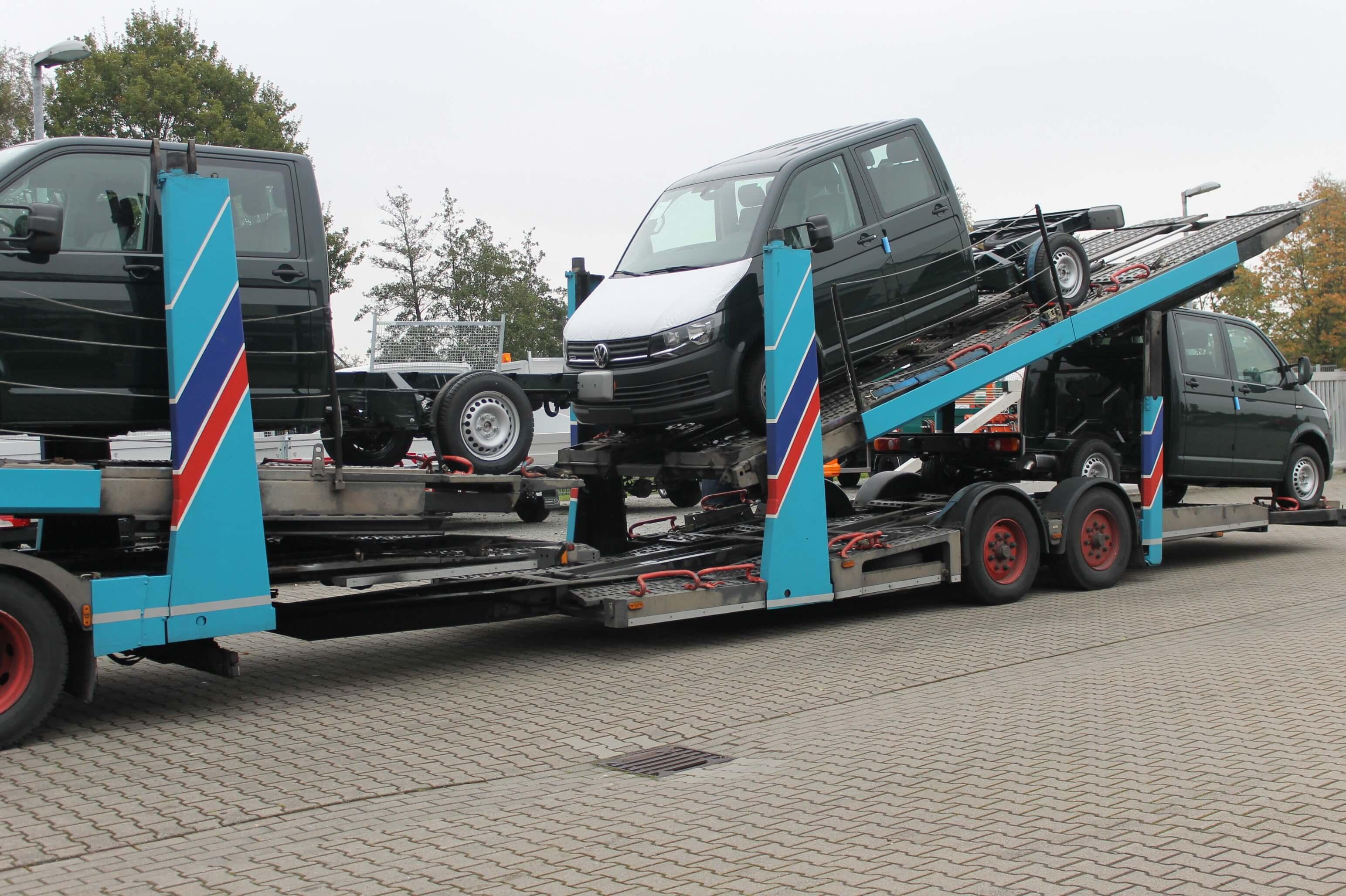 Fahrzeuganlieferung bei Schoon
