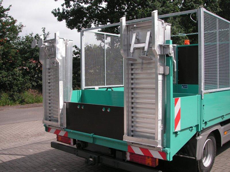Faltbare Laderampe Aus Aluminium Für LKW