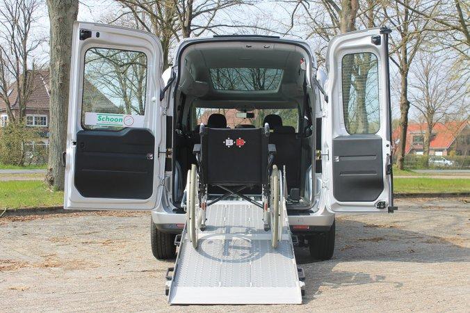 Fiat Doblo Mit BIG Rollstuhlrampe, Rollstuhlumbau