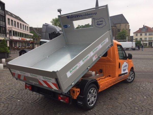 Fiat Doblo mit Schoon Kipper