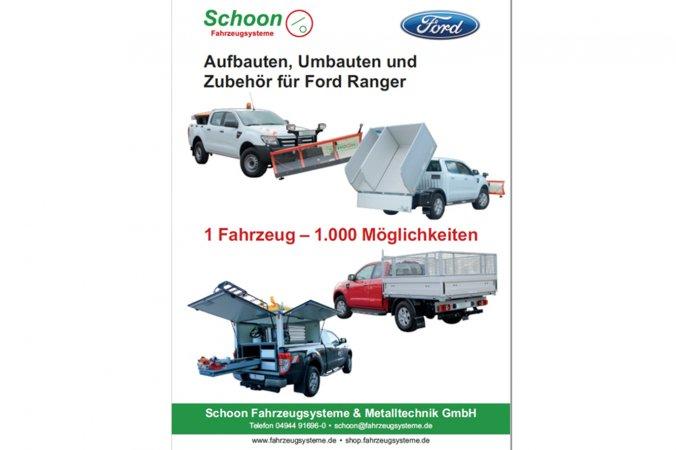 Ford Ranger Katalog