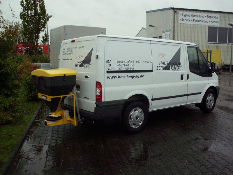 Ford Transit Kastenwagen Mit Schoon Winterdienst, Heckstreuer