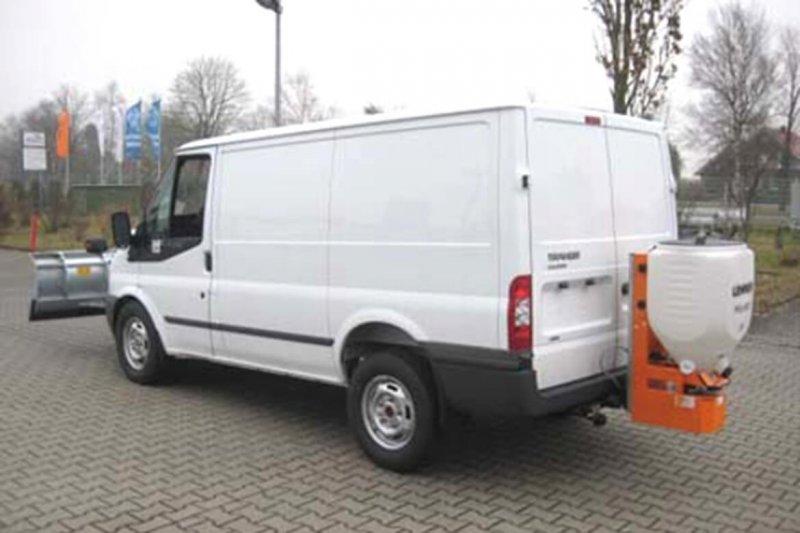 Ford Transit Kastenwagen Mit Schoon Winterdienst Schneeschild Und Streuer