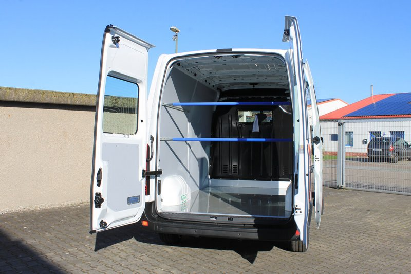 Opel Movano (Renault Master, Nissan NV400) Easy Clean Verkleidung Sperrstangen