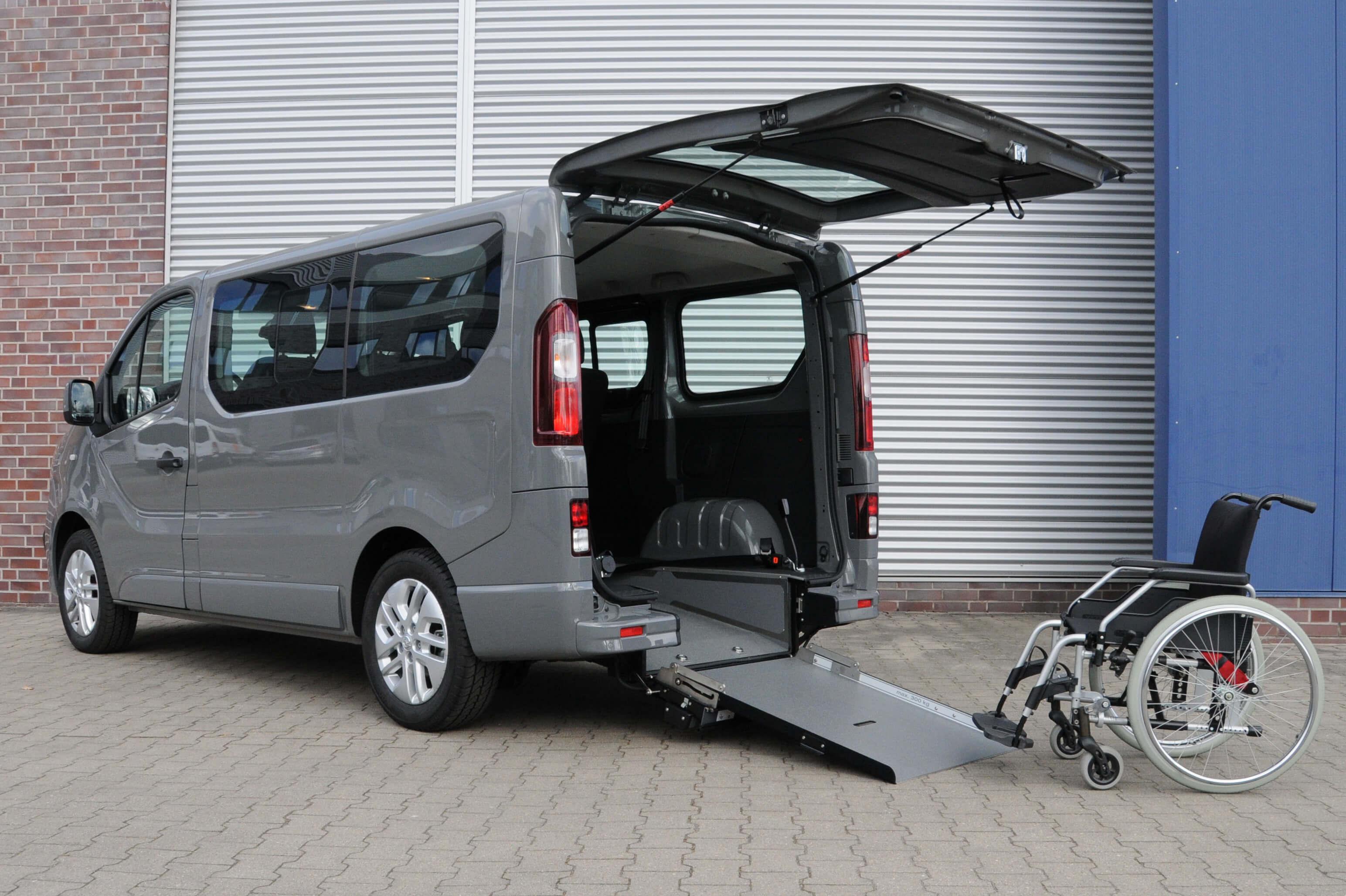 Opel Vivaro mit Heckausschnitt (1)
