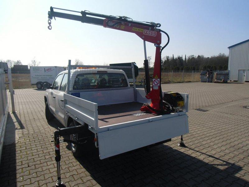 Pickup Mit Schoon FASSI Kran