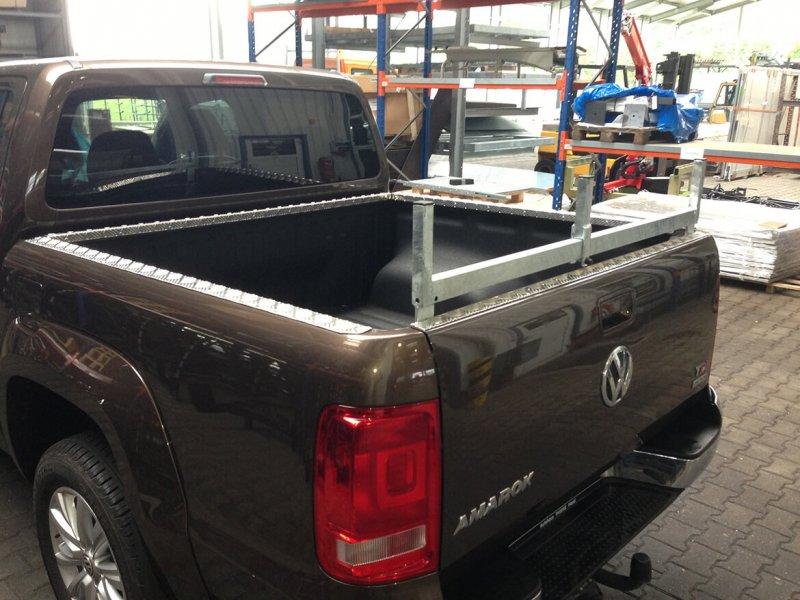 Pickup Mit Schoon Laderaumkantenschutz Aus Aluminium
