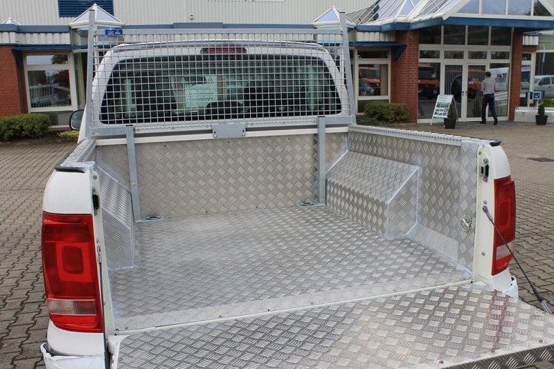 Pickup Mit Schoon Laderaumvollverkleidung Aus Aluminium