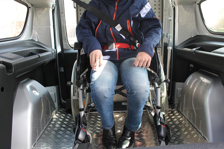 QS Quick Secure pro Rollstuhl und Personensicherungssysteme