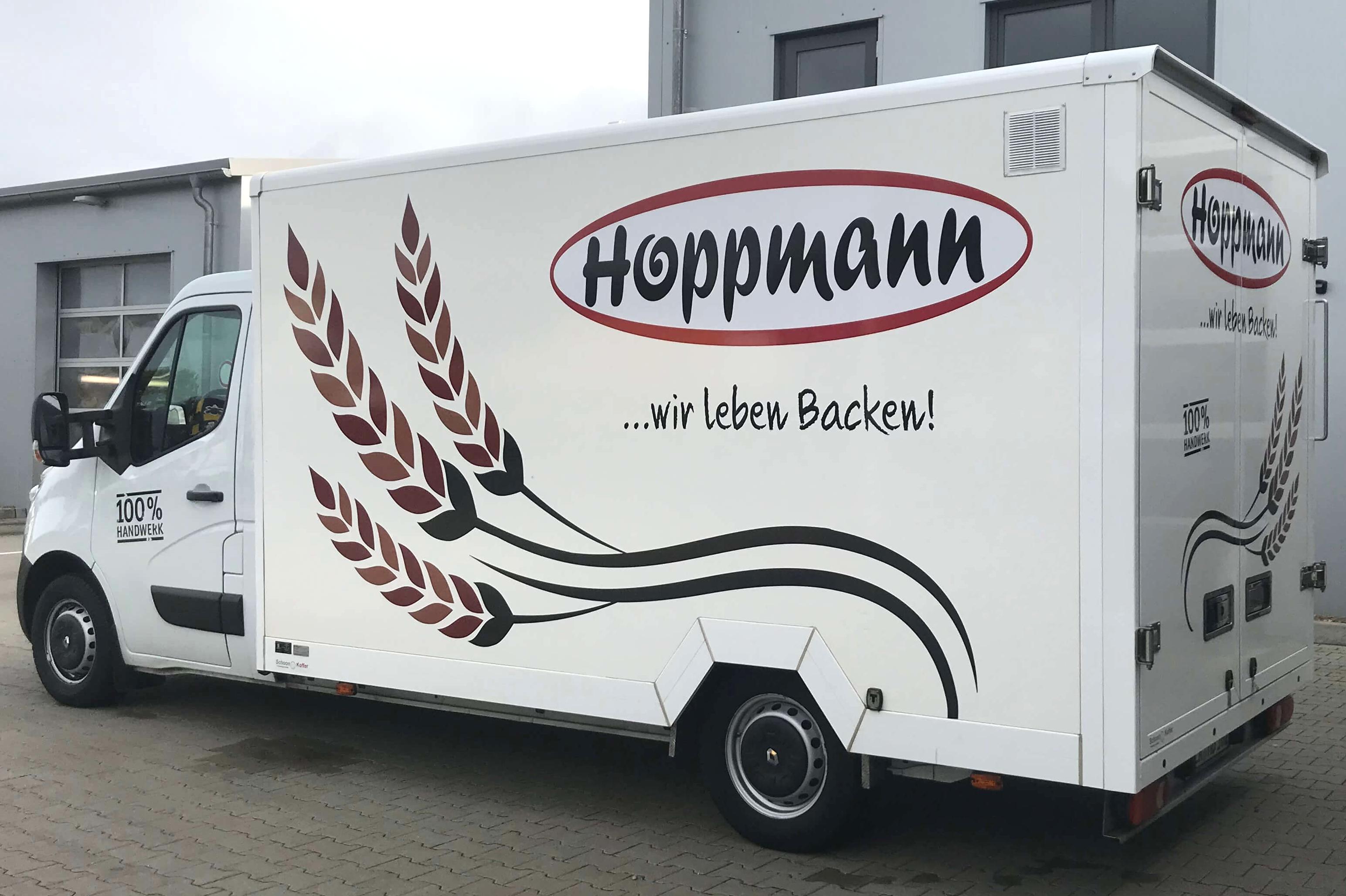 Renault Master Tiefrahmen mit Schoon Koffer für Bäckerei (2)