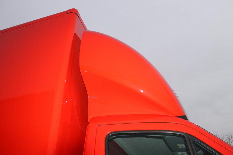 Schoon 3D Dachspoiler Rot Lackiert