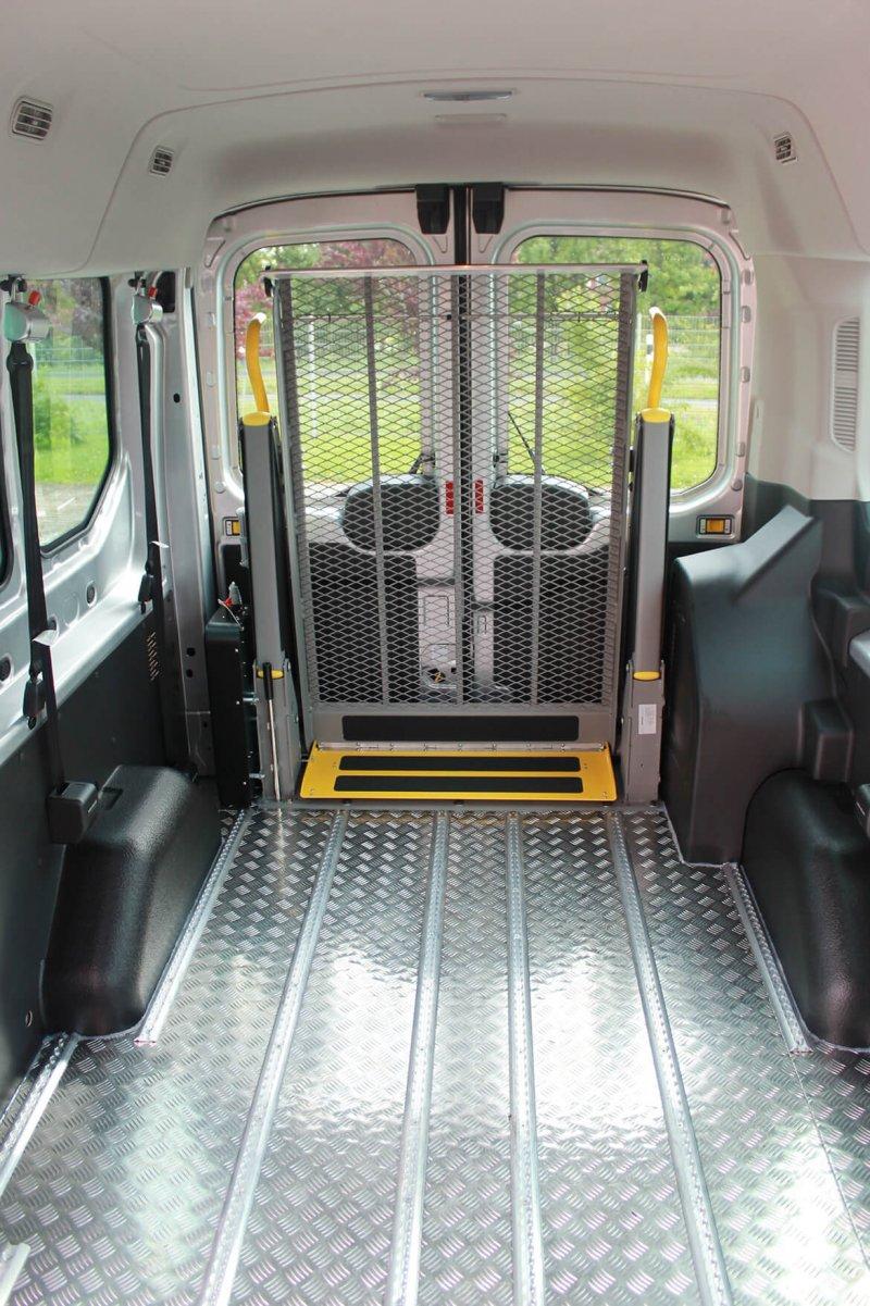 Schoon Aluminium Systemboden Zur Aufnahme Von 5 Rollstuhlplätzten