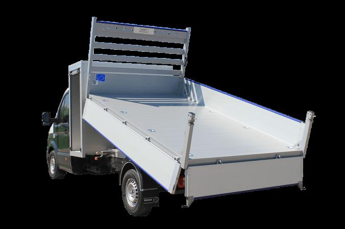 Schoon Fahrzeugsysteme Lagerfahrzeuge ALU Kipper