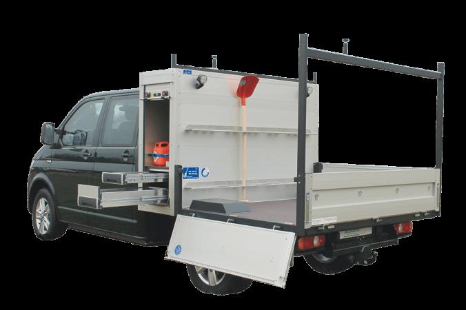 Schoon Fahrzeugsysteme Lagerfahrzeuge Pritsche