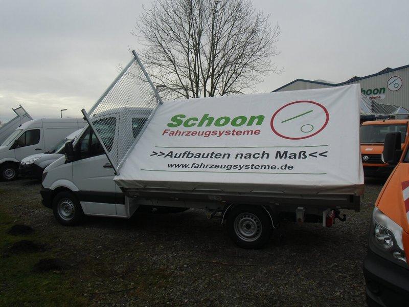 Schoon Flachplane Für Schoon Pritsche, Schoon Kipper Und Werkspritsche