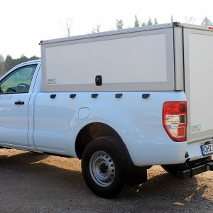 Schoon Hardbox Standardmäßig Unlackiert In Weiß Für Single Cab