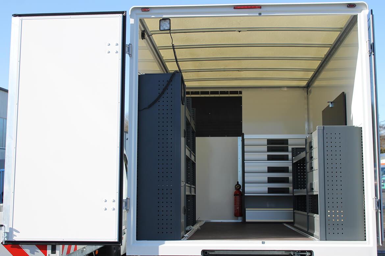 Schoon Koffer mit Fahrzeugeinrichtung, Dachspoiler (2)