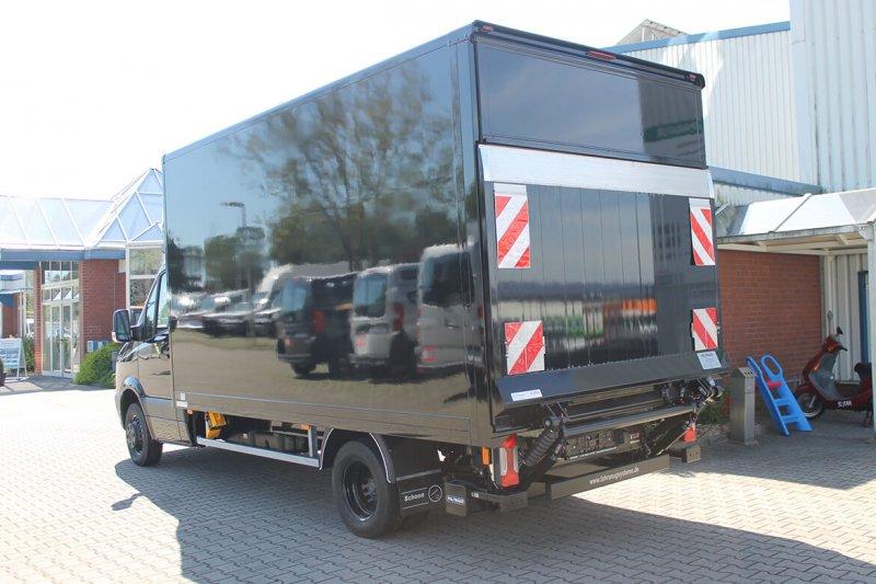Schoon Koffer Mit Ladebordwand In Wagenfarbe Lackiert