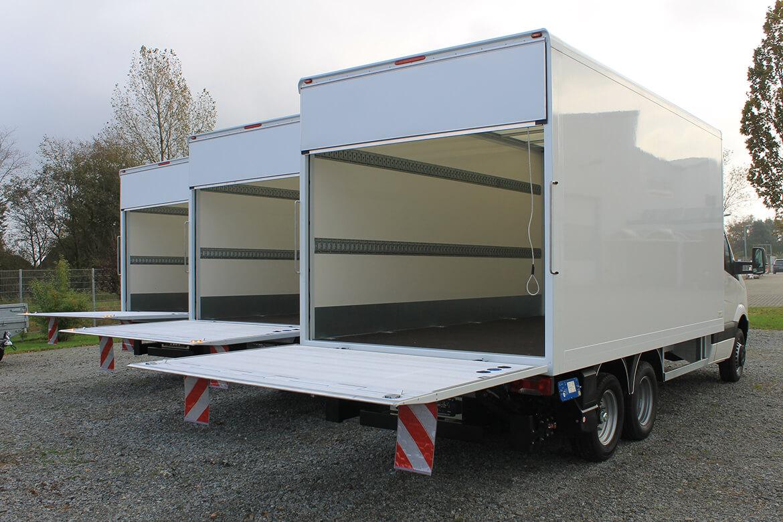 Schoon Kofferaufbau für die Logistik und Transportbranche