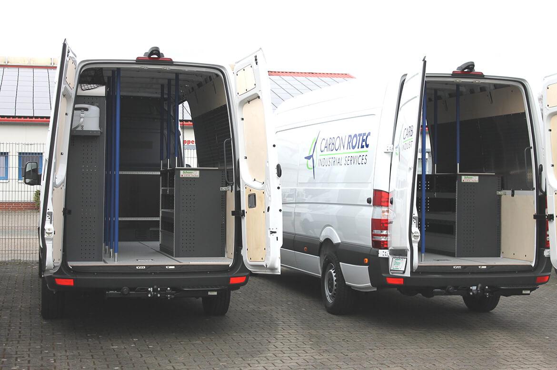 Schoon Servicefahrzeuge für die Windenergiebranche