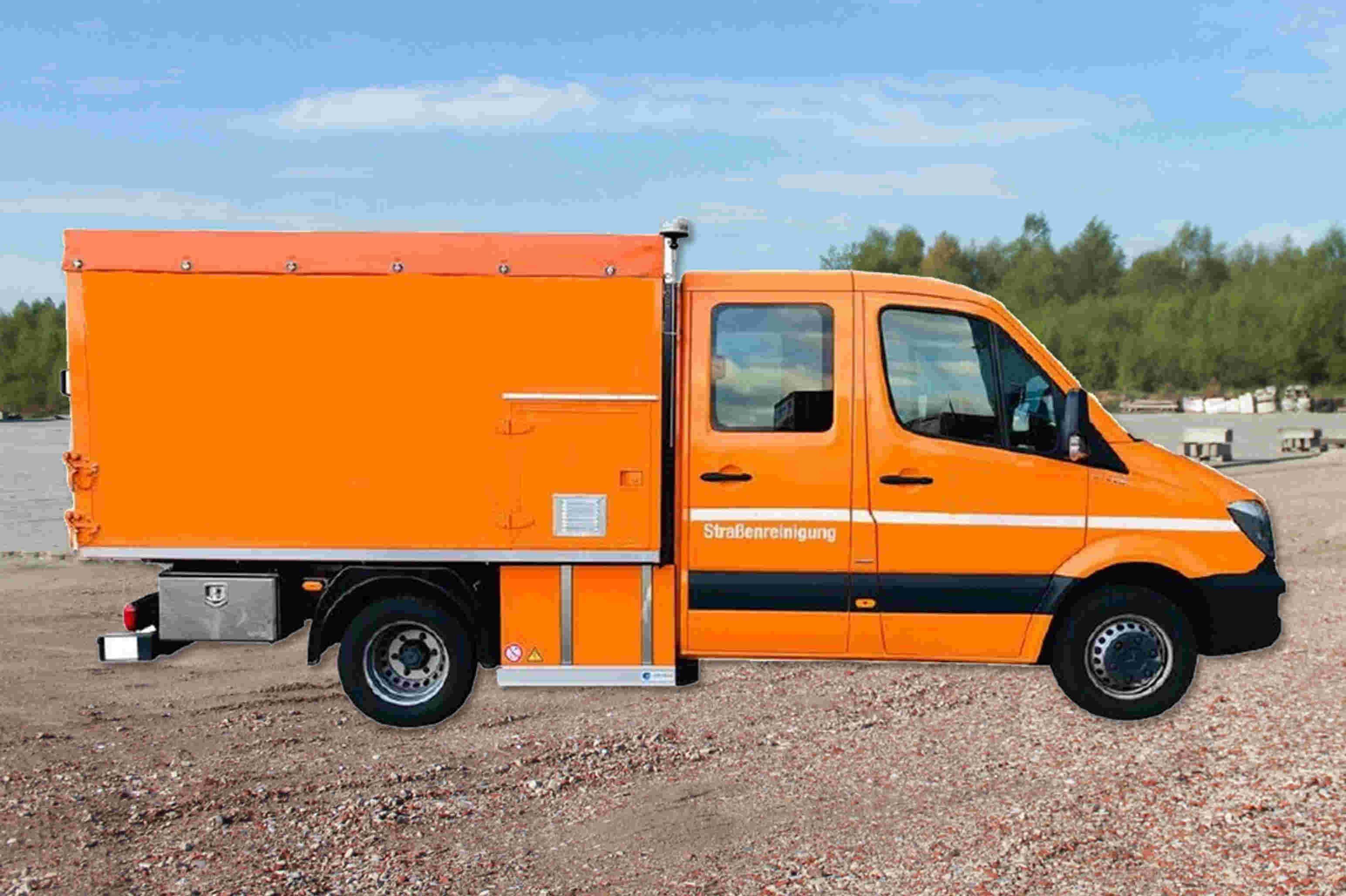 Schoon Sprinter Umrüstung E Motor Variante II (2)