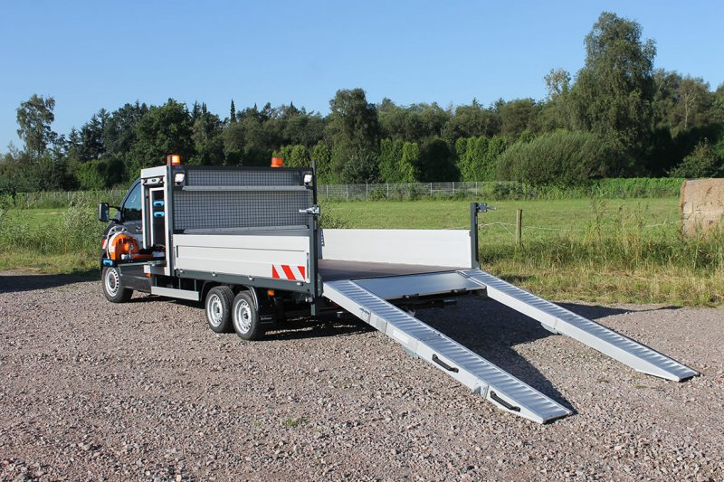 Schoon Universaltransporter Easy Load Mit Faltbarer Laderampe Aus Aluminium