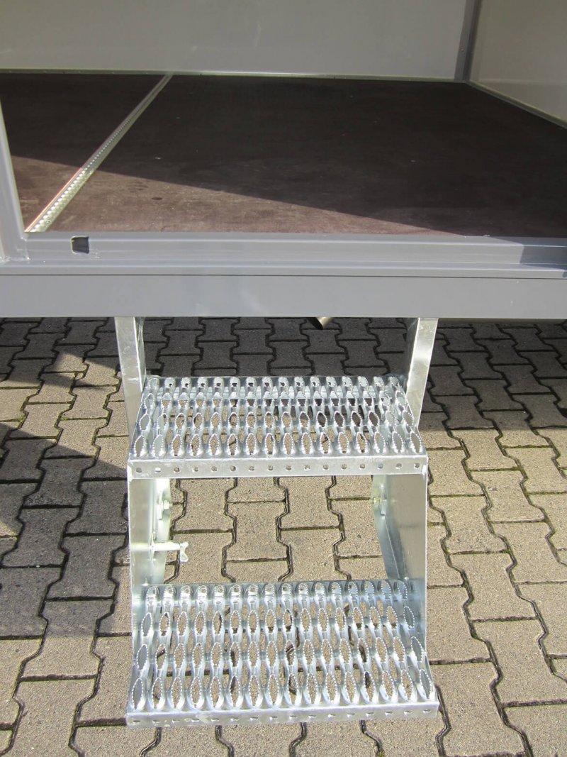 Schoon Mehrstufige Klapptreppe Für Koffer Aufbauten (2)
