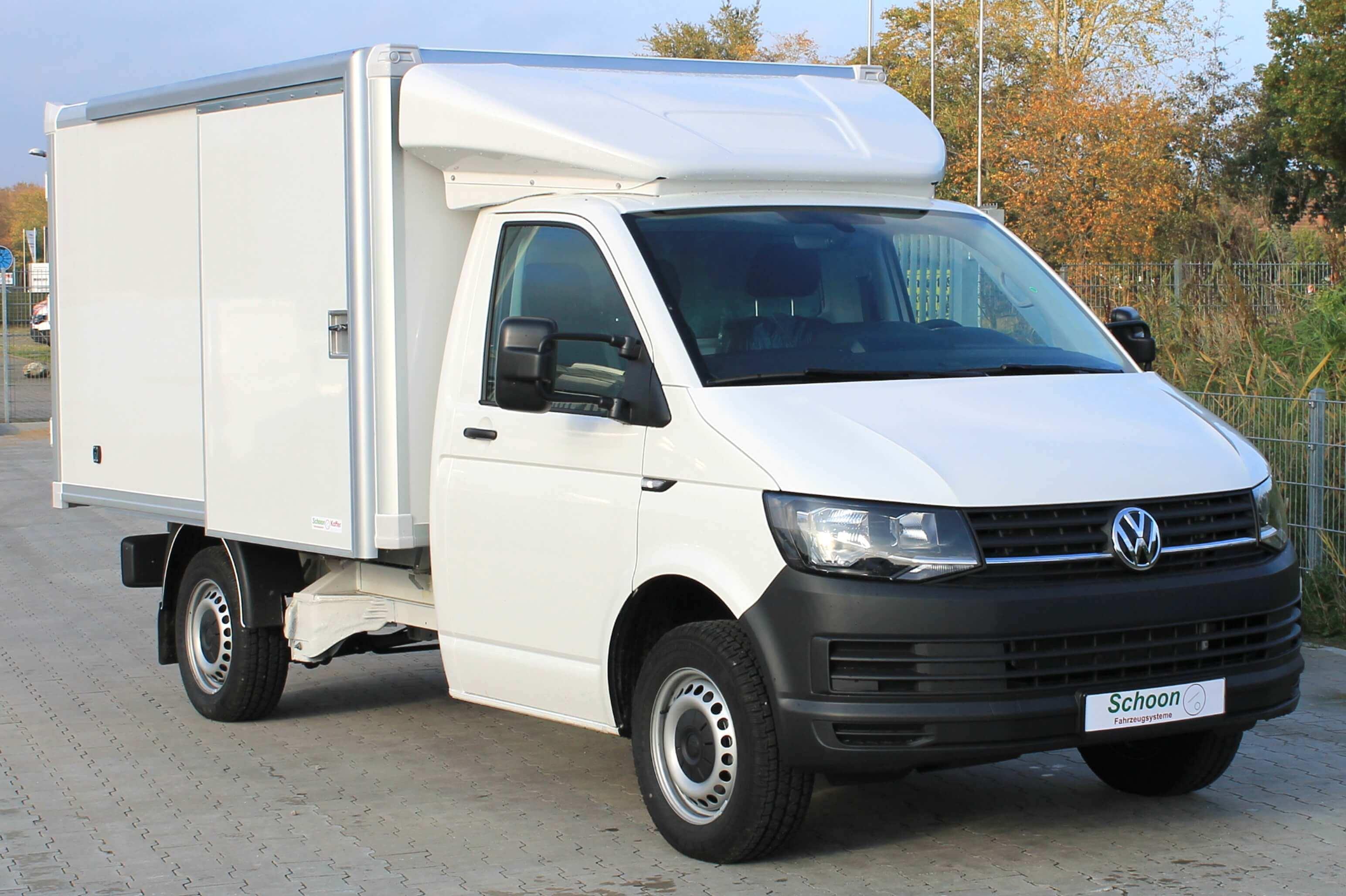 VW T6 Elektro mit Leichtbau Koffer, Schiebetüren, Innenbeleuchtung, Dachspoiler, AB1901318 (28)
