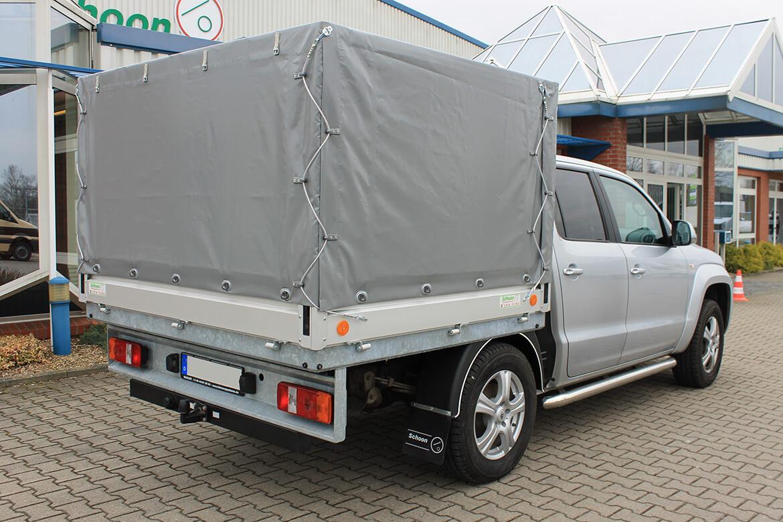 Volkswagen Nutzfahrzeuge Amarok mit Schoon Pritsche und PlaneSpriegel